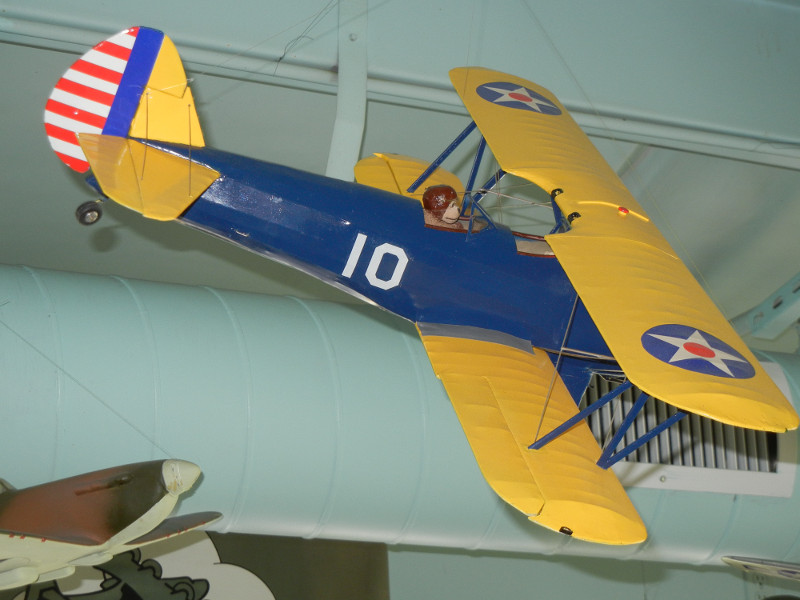 Model of the other biplane