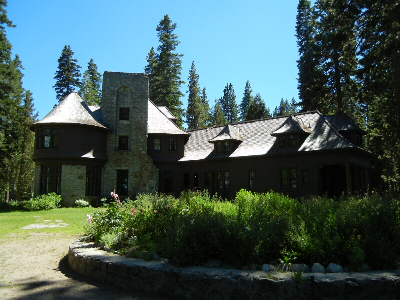 Tahoe Hellman Mansion North