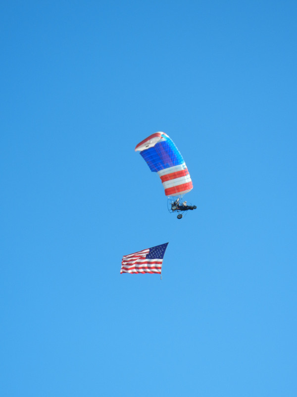 Patriotic Fly-by