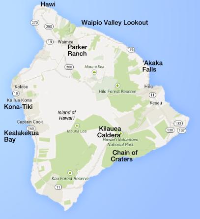 Hawaii Big Island trip September 2014